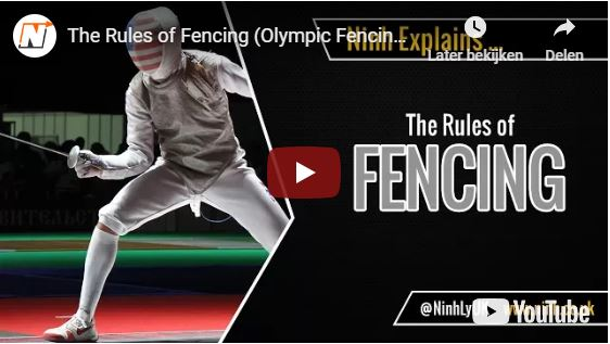 The rules of fencing explained.